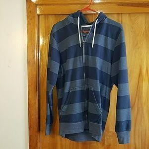 Men's zip up hoodie jacket
